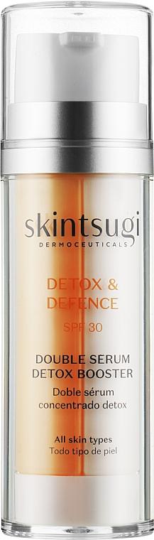 Двойная детокс-сыворотка - Skintsugi Detox & Defence Double Serum Detox Booster SPF30