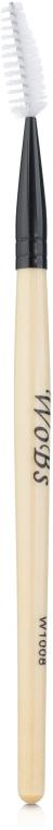 Спиральная щеточка для бровей W1008 синтетика - WoBs — фото N1
