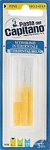 Духи, Парфюмерия, косметика Набор межзубных щёток, жёлтый - Pasta Del Capitano Interdental Brush Fine 0.9 mm