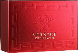 Духи, Парфюмерия, косметика Versace Eros Flame - Набор (edp/100ml + edp/10ml + pounch)