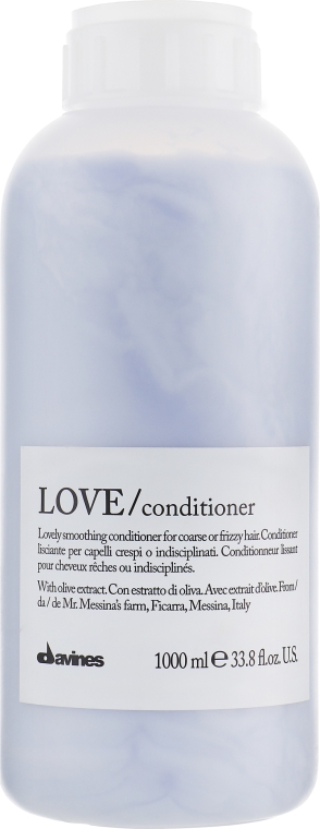 Кондиционер для разглаживания завитка - Davines Love Lovely Smoothing Conditioner