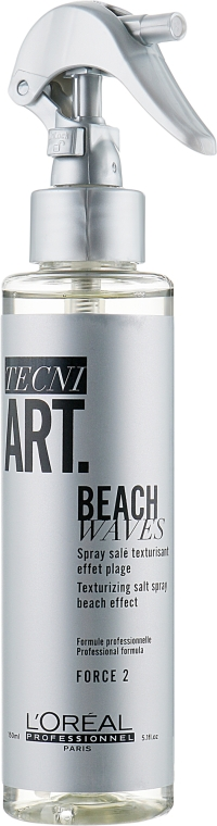 Текстурирующий спрей с минералами соли - L'Oreal Professionnel Tecni.Art Beach Waves Forte 2