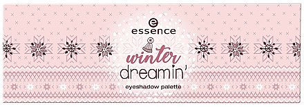 Палетка теней для век - Essence Winter Dreamin Eyeshadow Palette — фото N2