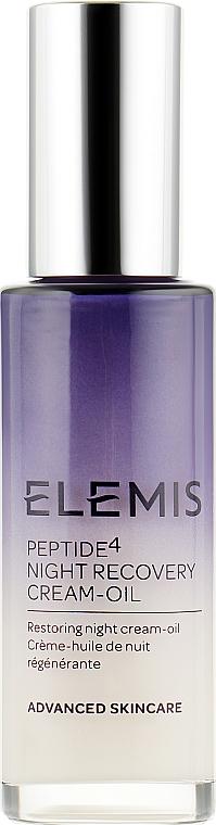 Ночная эмульсия для лица - Elemis Peptide4 Night Recovery Cream-Oil