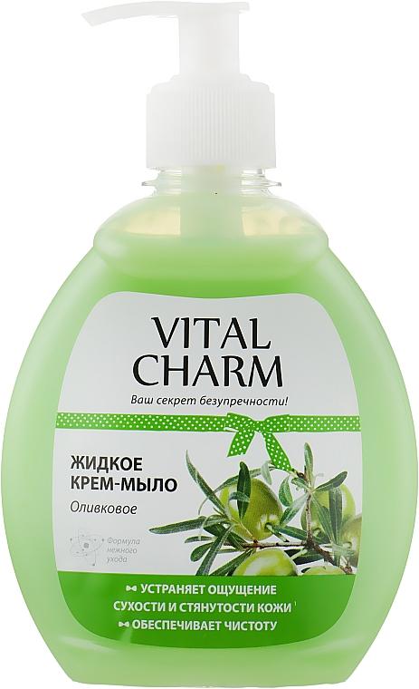 """Жидкое крем мыло """"Оливковое"""" - Vital Charm"""