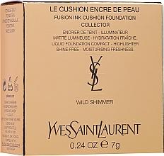 Духи, Парфюмерия, косметика Тональный хайлайтер-кушон - Yves Saint Laurent Mini Cushion Highlighter Holiday Edition