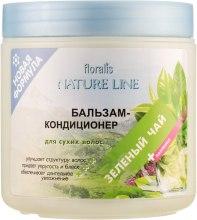"""Бальзам-кондиционер """"Зеленый чай"""" для сухих волос - Floralis Nature Line Balm — фото N1"""
