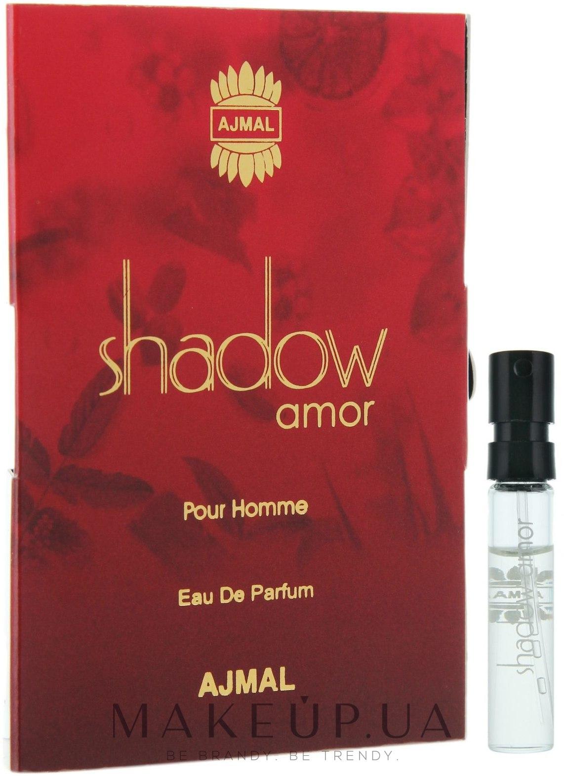Makeup отзывы о Ajmal Shadow Amor Pour Homme парфюмированная