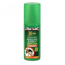 Духи, Парфюмерия, косметика Спрей от комаров - Xpel Tropical Formula Mosquito & Insect Repellent Pump Spray