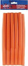 Духи, Парфюмерия, косметика Бигуди для волос 16/240 mm, оранжевые - Ronney Professional Flex Rollers RA 00043