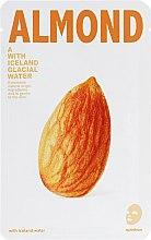 "Духи, Парфюмерия, косметика Тканевая маска для лица ""Миндаль"" - The Iceland Almond Mask"
