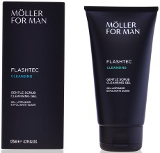 Духи, Парфюмерия, косметика Скраб для тела - Anne Moller Anne Moller For Man Flashtec Cleansing Gel