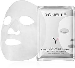 Духи, Парфюмерия, косметика Тканевая маска для лица - Yonelle Trifusion Biocellulose Endolift Mask
