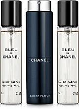 Духи, Парфюмерия, косметика Chanel Bleu de Chanel - Парфюмированная вода (сменный блок с футляром)
