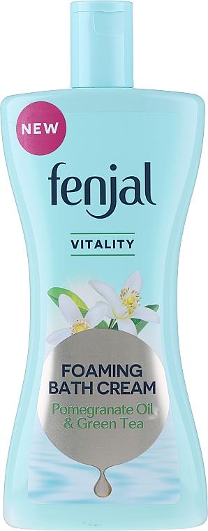 """Крем-гель для душа """"Масло граната и зеленый чай"""" - Fenjal Vitality Pomegranate Oil & Green Tea Foaming Bath Cream"""