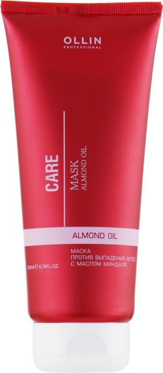 Маска против выпадения волос с маслом миндаля - Ollin Professional Care Hair Mask