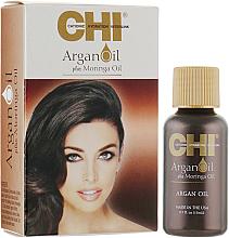 Духи, Парфюмерия, косметика Восстанавливающее масло для волос - CHI Argan Oil Plus Moringa Oil (мини)