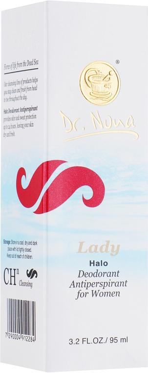 "Женский дезодорант-антиперспирант ""Lady"" - Dr. Nona Deodorant Anti-Perspirant"
