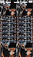 """Духи, Парфюмерия, косметика УЦЕНКА Мужской станок для бритья """"Action 3"""", 24 шт. - Bic *"""