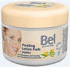 Духи, Парфюмерия, косметика Влажные косметические диски с жожоба - Bel Premium Peeling Lotion Jojoba Pads