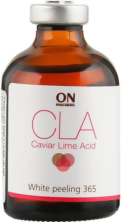 Пилинг для кожи с пигментацией - Onmacabim CLA White Peeling 365