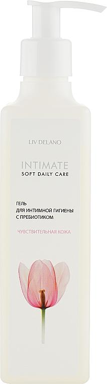 """Гель для интимной гигиены с пребиотиком """"Чувствительная кожа"""" - Liv-Delano Intimate Soft Daily Care"""