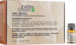"Духи, Парфюмерия, косметика Набор ""Уход против выпадения волос"" - Dikson Every Green Energising (ampoul/8x8ml)"