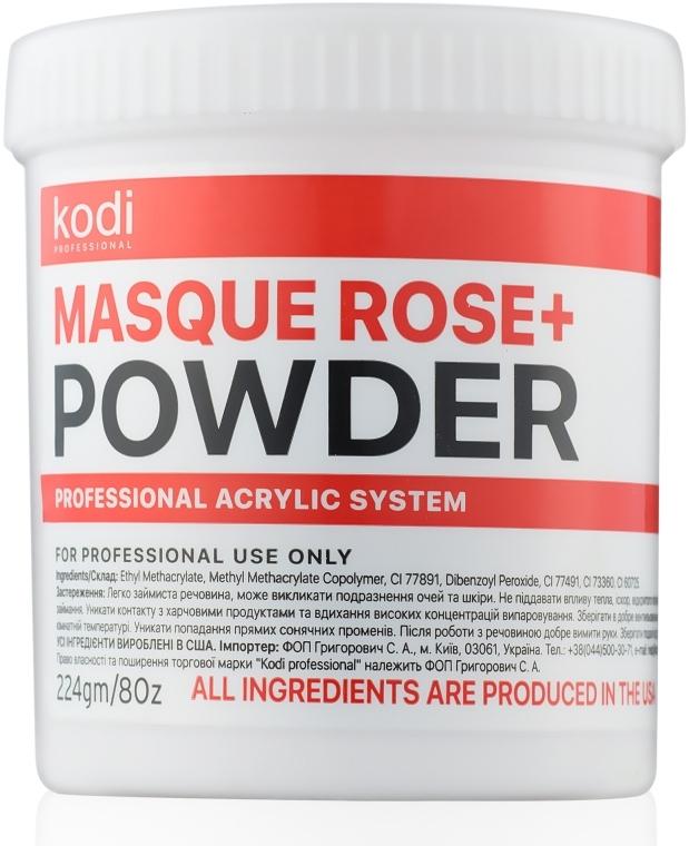 Акрилова пудра - Kodi Professional Masque Rose+ Powder — фото N1