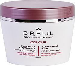 Духи, Парфюмерия, косметика Маска для окрашенных волос - Brelil Bio Treatment Colour Illuminating Mask
