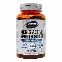 Духи, Парфюмерия, косметика Витамины для мужчин, капсулы - Now Foods Men's Active Sports Multi Softgels