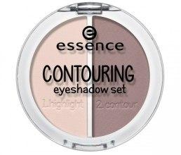 Духи, Парфюмерия, косметика Тени для век - Essence Contouring Eyeshadow