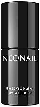 Духи, Парфюмерия, косметика Покрытие для гель-лака 2 в 1 - NeoNail Professional Base/Top 2in1 UV Gel Polish