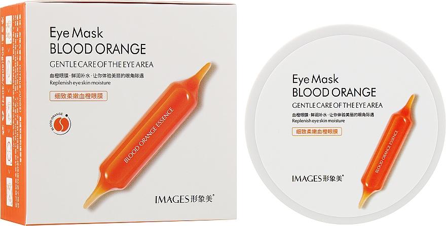 Гидрогелевые патчи с экстрактом красного апельсина - Images Blood Orange Eye Mask