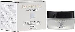 Духи, Парфюмерия, косметика Ночной питательный крем для лица - Dermika Hydralogio Hydra Nourishing Face Cream 30+