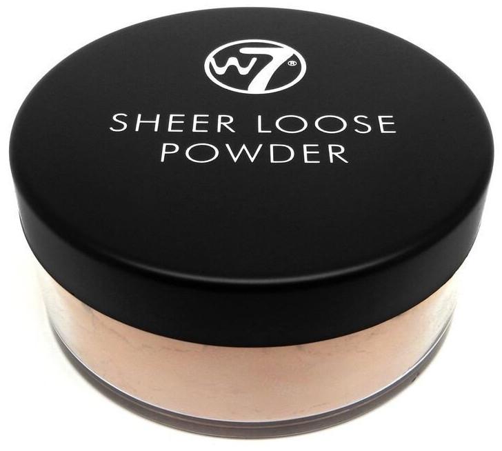 Рассыпчатая пудра для лица - W7 Sheer Loose Powder