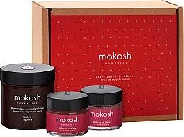 "Духи, Парфюмерия, косметика Набор ""Малина"" - Mokosh Cosmetics Raspberry (f/cr/60ml + lip balm/15ml + lip peeling/15ml)"