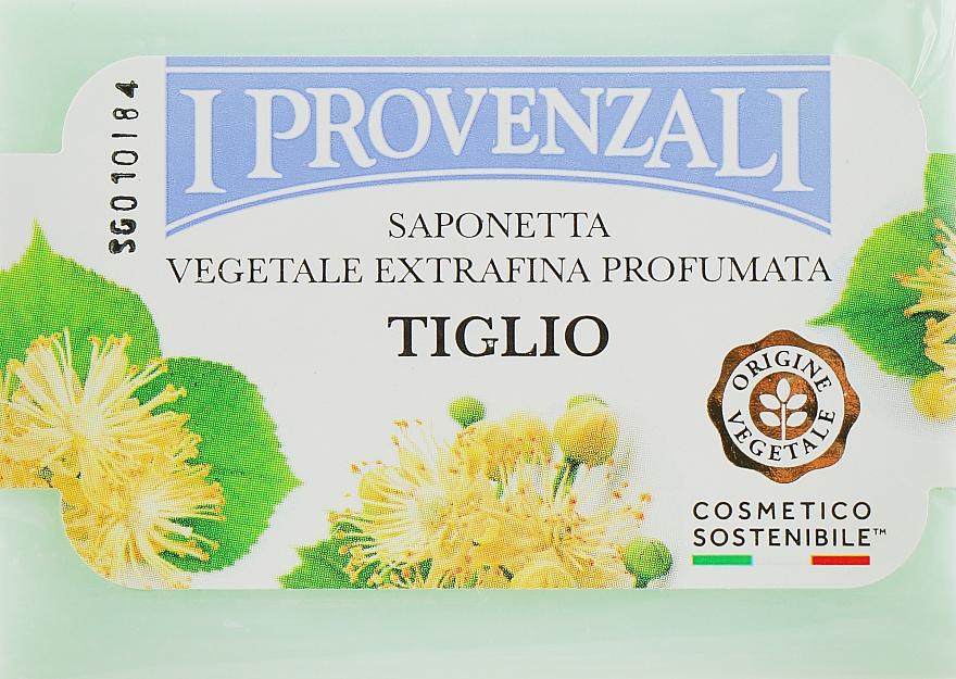 """Мыло твердое растительное """"Липа"""" - I Provenzali Vegetale"""
