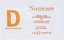 Духи, Парфюмерия, косметика Питательный крем для лица - Dermophisiologique Nutri Care Cream (пробник)