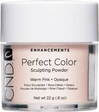 Духи, Парфюмерия, косметика Акриловая пудра прозрачная с натуральным оттенком - CND Perfect Color Sculpting Powder Warm Pink Opaque