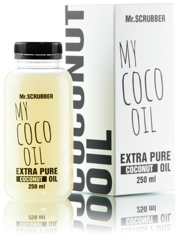 Масло косметическое кокосовое сверхочищенное - Mr.Scrubber My Coco Oil Extra Pure Coconut Oil