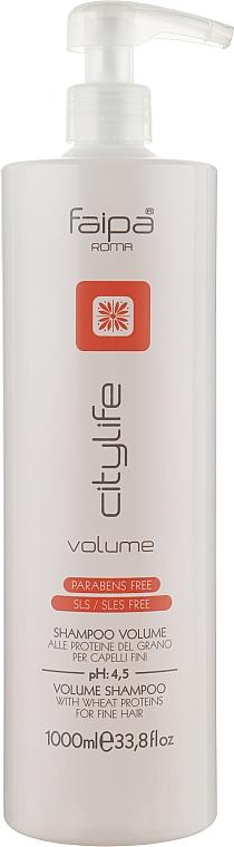 Шампунь для объёма волос - Faipa Roma City Life Volume Shampoo