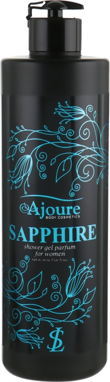 "Крем-гель для душа ""Сапфир"" - Ajoure Sapphire Perfumed Shower Gel"