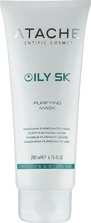 Антибактериальная очищающая маска - Atache Oily SK Purifying Mask