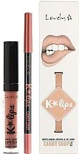 Духи, Парфюмерия, косметика Набор для губ - Lovely Lip Set K*Lips Candy Shop