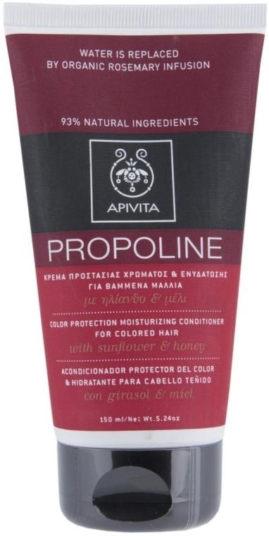 Кондиционер для окрашенных волос с подсолнечником и медом - Apivita Hair Colour Protection Moisturising Conditioner with Sunflower