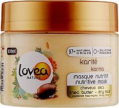 Духи, Парфюмерия, косметика Маска для волос с маслом ши - Lovea Nutritive Mask Shea Butter