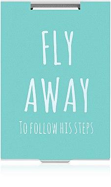 """Зеркало прямоугольное """"Fly Away"""" бирюзовое - Rapira"""