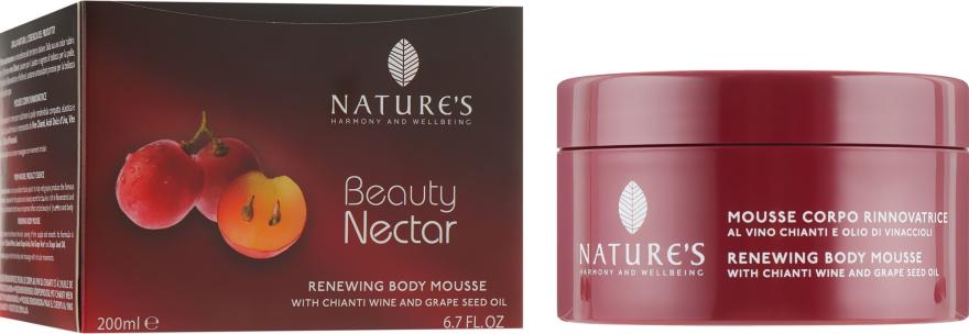 Восстанавливающий мусс для тела - Nature's Beauty Nectar Renewing Body Mousse