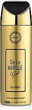 Духи, Парфюмерия, косметика Armaf De La Marque Gold - Дезодорант