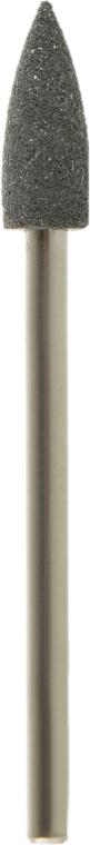 Полировщик силиконовый маленький конус острый, средний абразив, черный, 404В - Tufi Profi